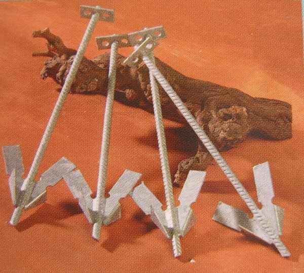 Ancres harpons