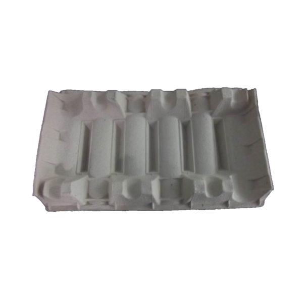 Croisillon moulé pour le calage de 6 bouteilles Bordelaises avec repose cols double face