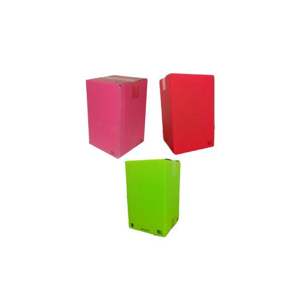Gamme cartons BIB Color Box
