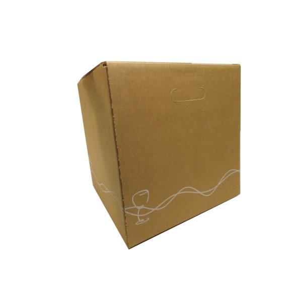 Carton BiBox vue d'angle