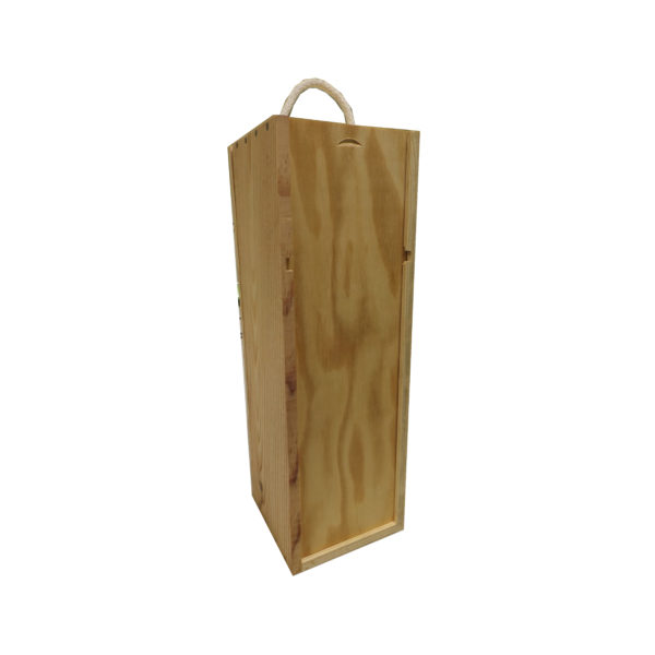 Caisse bois pour 1 magnum