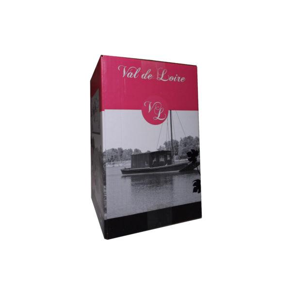 Carton BIB Val de Loire rose