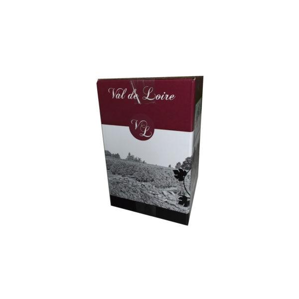 Carton BIB Val de Loire rouge