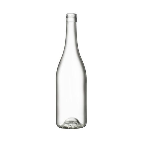 Bouteille Bourgogne Evolution Blanche avec bague à vis