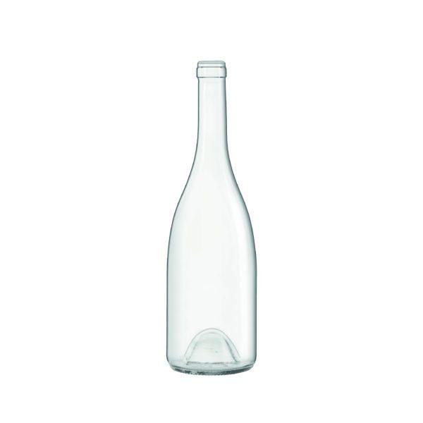 Bouteille Bourgogne Avantage Blanche avec bague plate