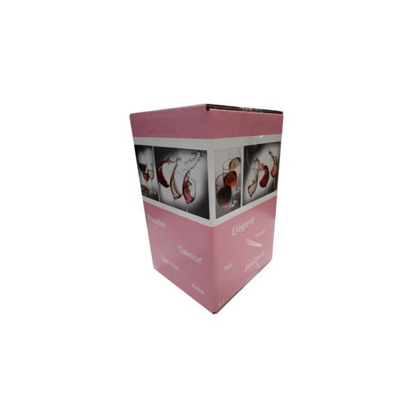 Carton BIB Verre Elegant 5L Rose