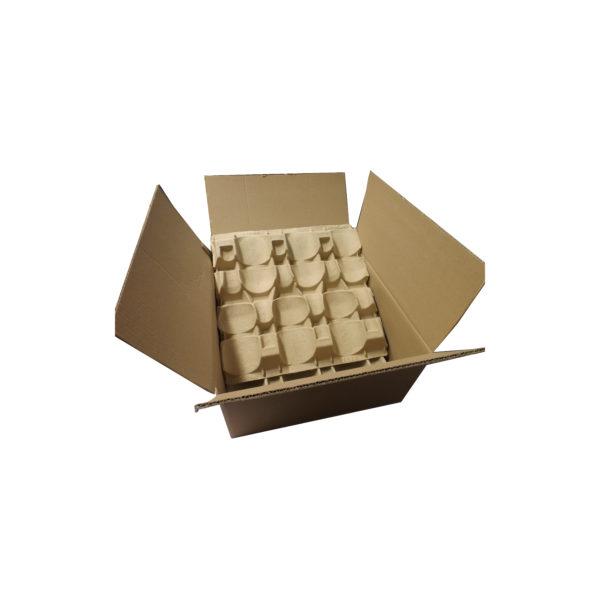 Carton 12 bouteilles avec calage