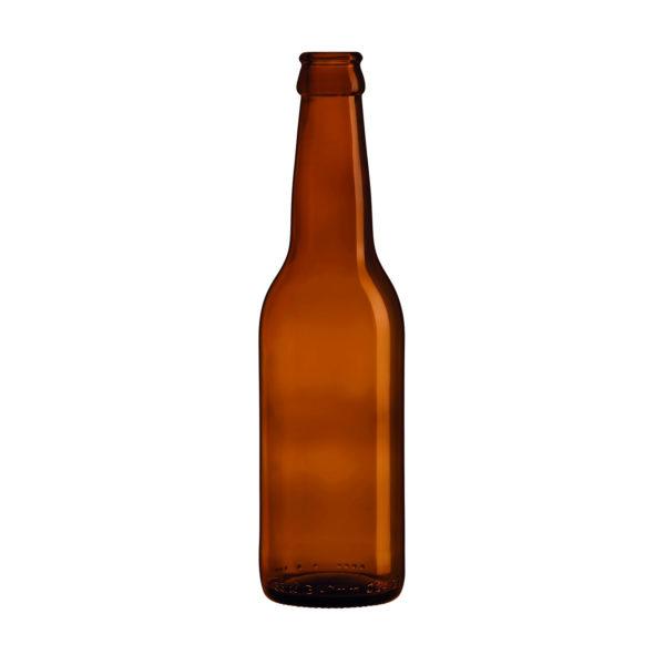 Bouteille bière Long Neck Ambrée