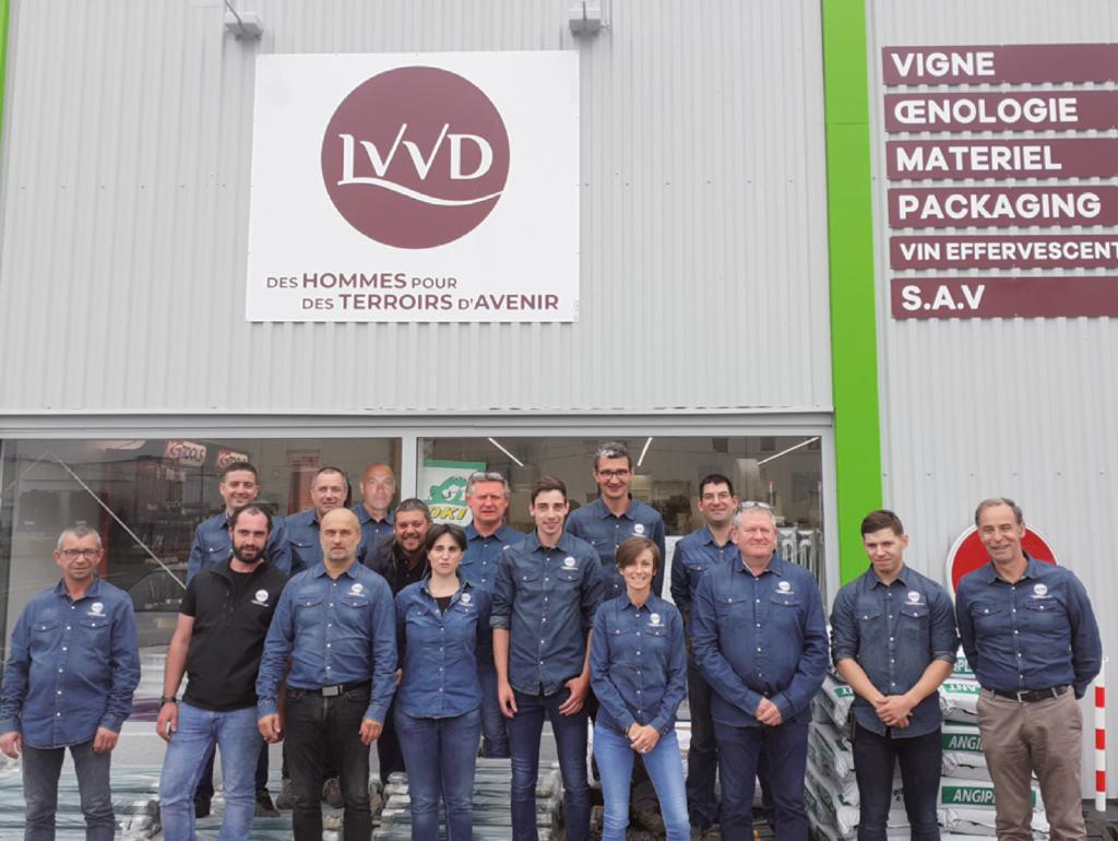 Equipe du magasin LVVD de Vallet