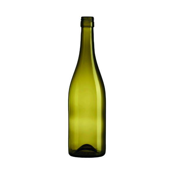 Bouteille Bourgogne Evolution Feuille morte avec bague à vis