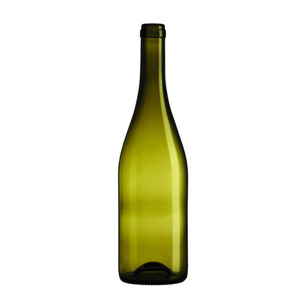 Bouteille Bourgogne Evolution Feuille morte avec bague plate