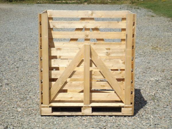 caisse en bois pour remupal